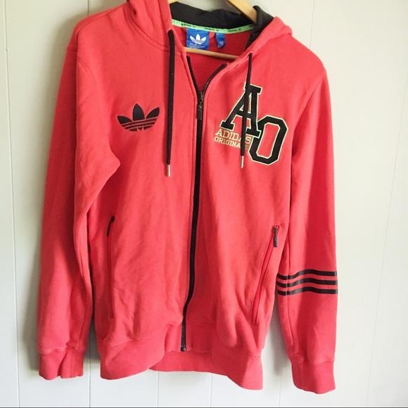 Adidas Originals • Vintage Hoodie Full Zip Trefoil